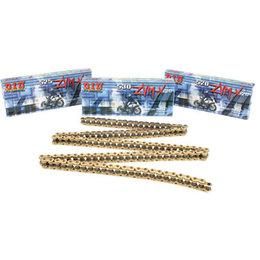 DID Chain 520 ZVM-X Series Super Street X-Ring Chain 120 Links Gold Universal