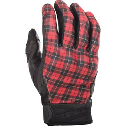 Fly Racing Mens Street Subvert Highland Gloves Red