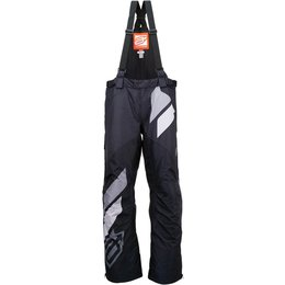 Arctiva Mens Comp Insulated Bib Snowmobile Pants Black