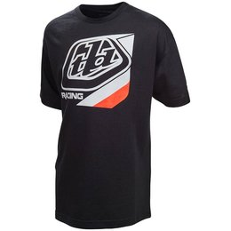 Troy Lee Designs Youth Boys Precision Cotton Graphic T-Shirt Black