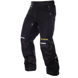 Klim Mens Vector Gore-Tex Insulated Breathable Textile Snowmobile Pants Black