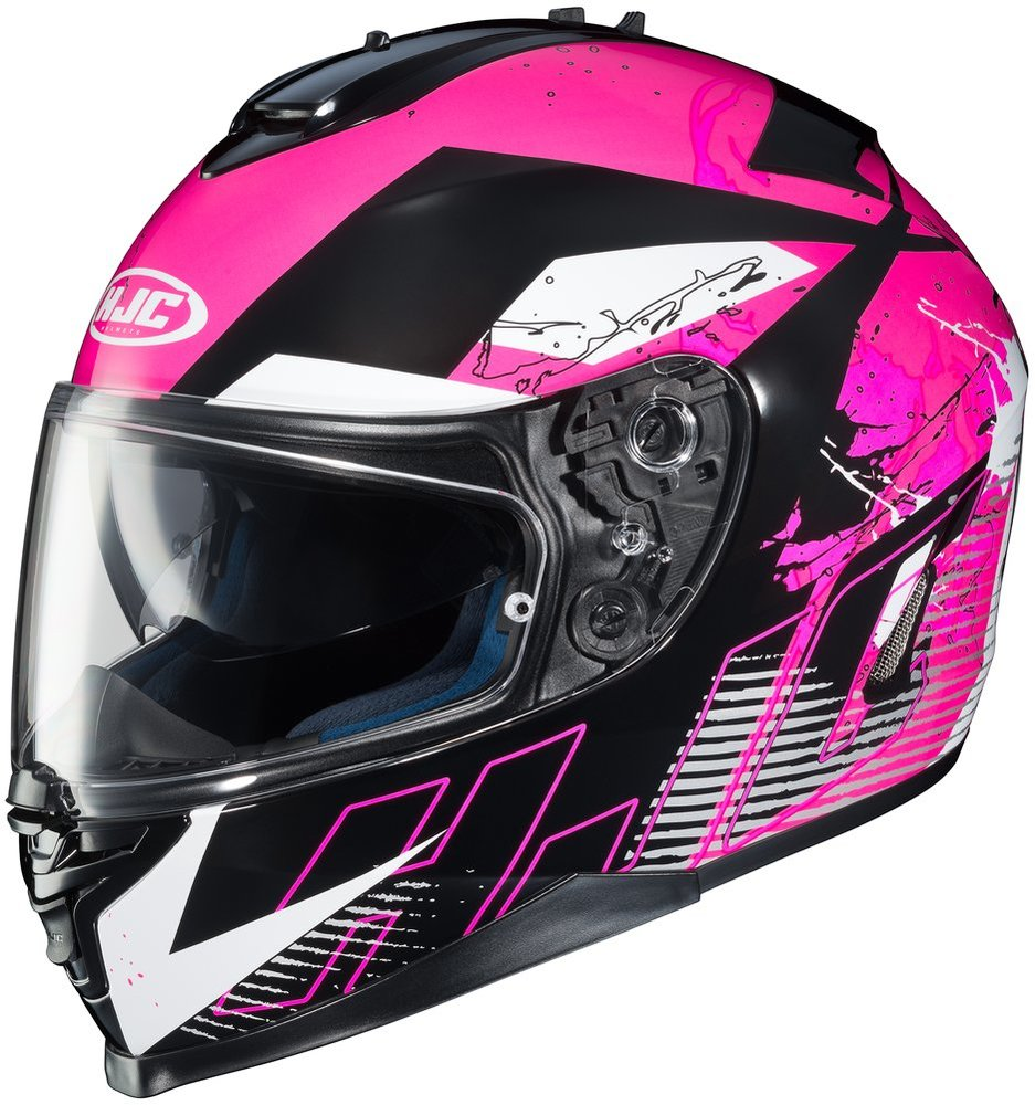 104 88 Hjc Womens Is 17 Blur Full Face Motorcycle Helmet