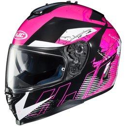 HJC Womens IS-17 Blur Full Face Motorcycle Helmet With Pinlock Shield