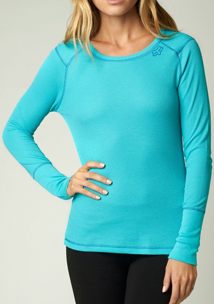 Fox racing womens boundless long sleeve thermal 220614 for Thermal shirt for women