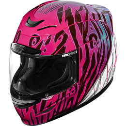 Icon Womens Airmada Wild Child Full Face Helmet Purple