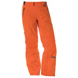 Divas Womens Prizm Waterproof Shell Technical Snowmobile Pants Orange