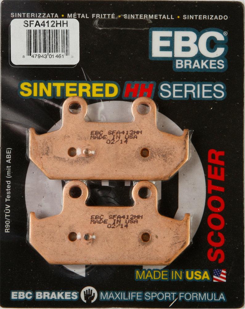 Rear Sintered HH Brake Pads to suit SUZUKI AN 650 BURGMAN AN650