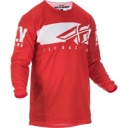 Fly Racing Mens Kinetic Shield Jersey Red