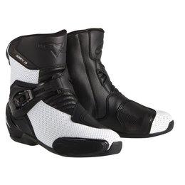 Black Alpinestars Mens S-mx 3 Vented Boots 2015 Us 5 Eu 38