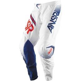 Answer Youth Boys Syncron Motocross MX Riding Pants White
