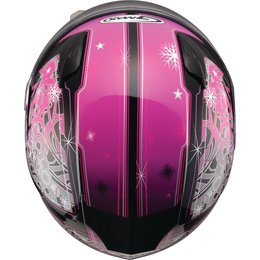 GMAX Youth Girls GM49YS Celestial Snowmobile Helmet With Flip-Up Shield Pink