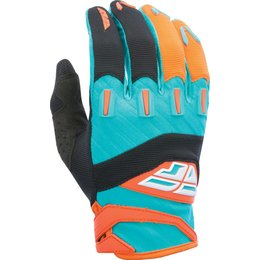 Fly Racing Youth Boys MX Offroad F-16 Riding Gloves Orange