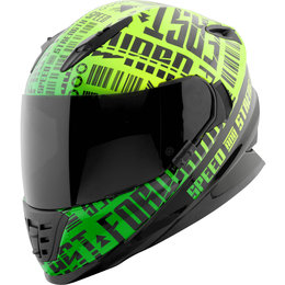 Speed & Strength Fast Forward SS1310 Full Face Helmet Green