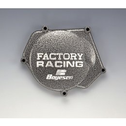Boyesen Factory Ignition Cover Silver For Honda CR250 02-07