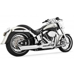 Freedom Performance Exhaust Union 2-Into-1 Black For Harley FLST FXST 1986-2013