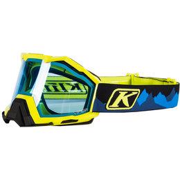 Klim Viper Snowmobile Goggles Blue