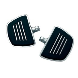 Kuryakyn Premium Mini Foot Boards For Harley Davidson Style Male Peg Mounts Unpainted