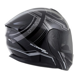Scorpion EXO-GT920 EXOGT 920 Satellite Modular Helmet Silver