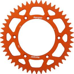 Supersprox Aluminum Rear Sprocket 48T Husqvarna KTM Orange RAL-990-48-ORG Orange