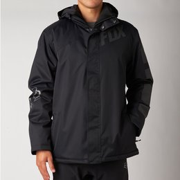 Fox Racing Mens Source Hooded Tech Jacket 2014 Black