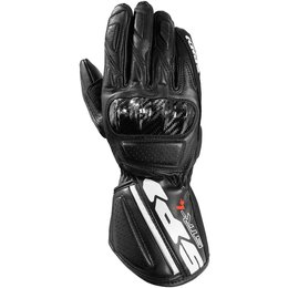 Spidi Sport Mens STR-4 Leather Gloves Black