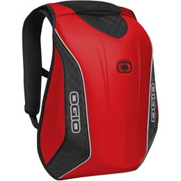 Ogio No Drag Mach 5 Motorcycle Bag Molded Pak Backpack Red