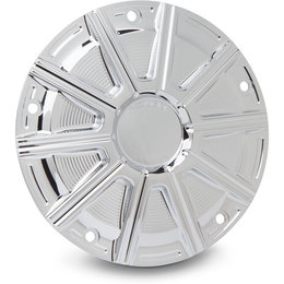 Arlen Ness 10-Gauge Derby Cover For Harley-Davidson FLT FLHTKL/CUL Chrome 03-350 Unpainted