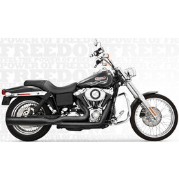 Freedom Performance Exhaust Union 2-Into-1 Black For Harley FXD 2006-2013