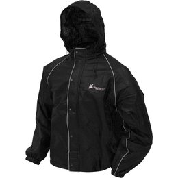 Frogg Toggs Mens Road Toad Reflective Rain Jacket Black