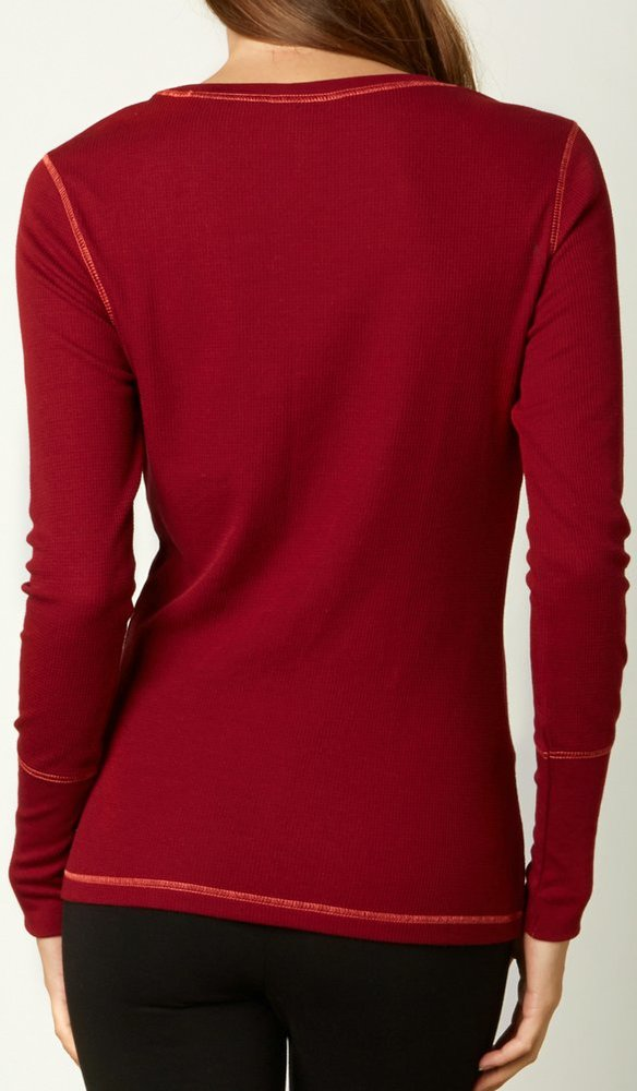 Fox racing womens boundless long sleeve thermal 220614 for Thermal t shirt long sleeve