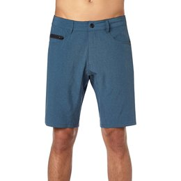 Fox Racing Mens Machete Tech Hybrid Shorts Blue