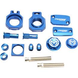 Moose Racing Aluminum Bling Pack Husqvarna FC 250 350 450 Blue 1231-0927 Blue