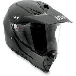 Black Agv Ax-8 Evo Dual Sport Helmet