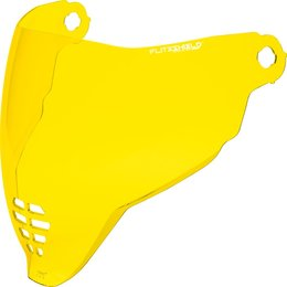 Icon Airflite Helmet Shield Yellow