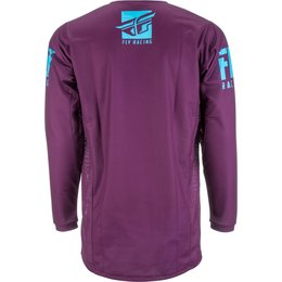 Fly Racing Mens Kinetic Shield Jersey Purple