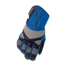 Blue Cortech Gx Air Leather Mesh Gloves