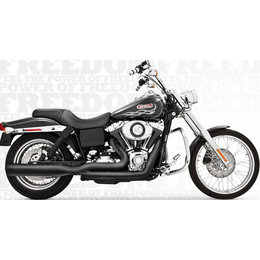Freedom Performance Exhaust Union 2-Into-1 Black For Harley FXD 1991-2005