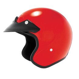 Cyber U-6 Open Face Helmet Red