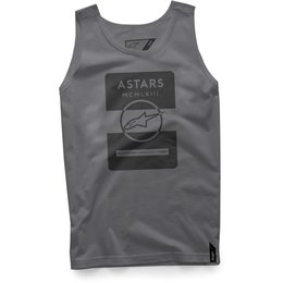 Alpinestars Mens Kar Cotton Graphic Tank Top Grey