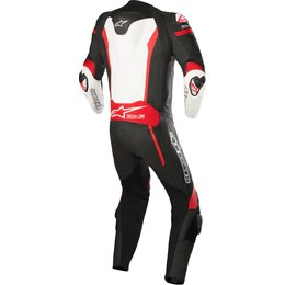 Alpinestars Mens Missile 1 Piece Tech-Air Compatible Leather Suit Black