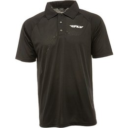 Black Fly Racing Polo Shirt 2013