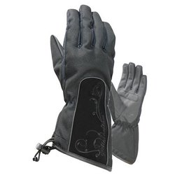 Black Alpinestars Stella Messenger Gloves