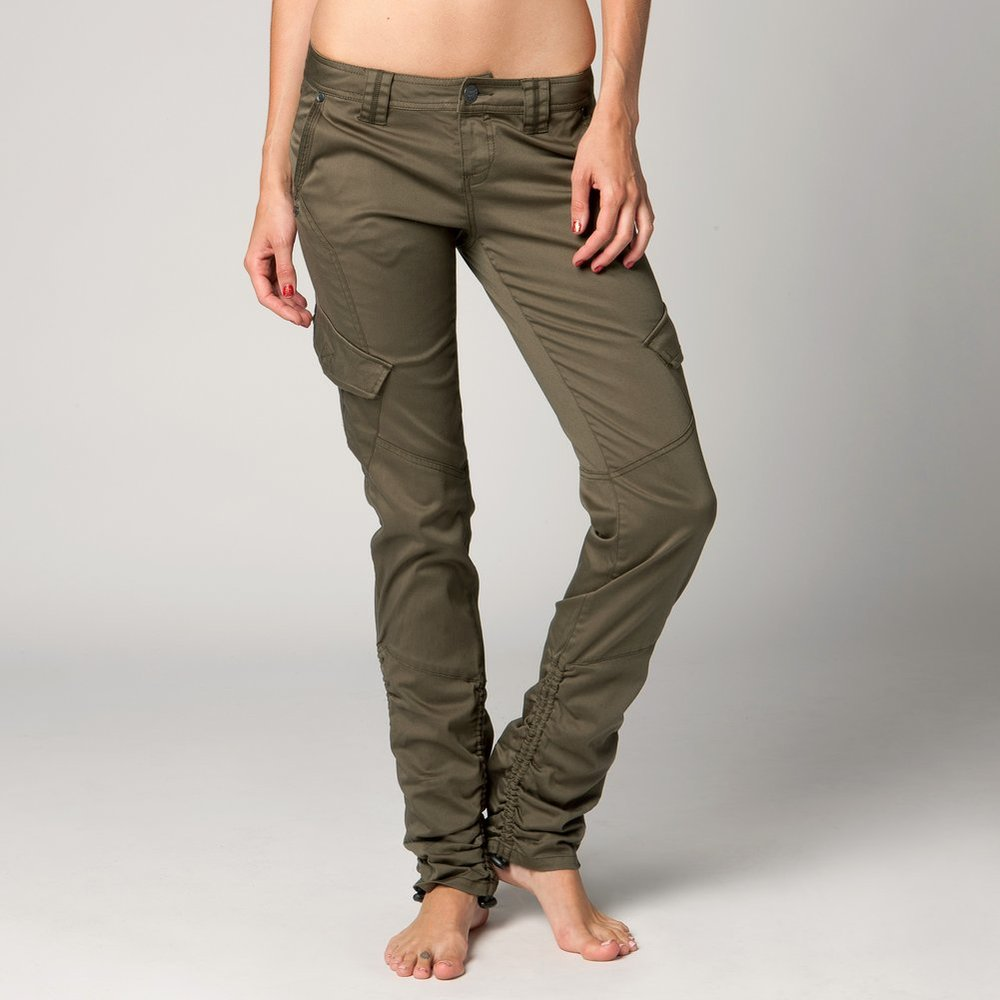 $69.50 Fox Racing Womens Transport Skinny Fit Cargo Pants #195127