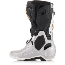 Alpinestars Mens Limited Edition Tech 10 Battle Born Boots Silver