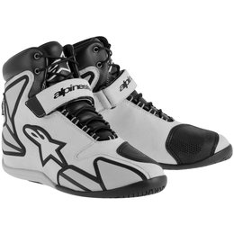 Alpinestars Mens Fastback Waterproof Riding Shoes Grey