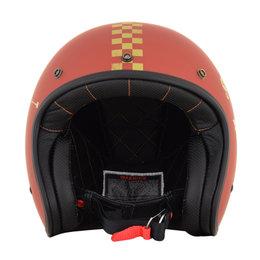 AFX FX-76 FX76 Speed Racer Open Face Helmet Orange