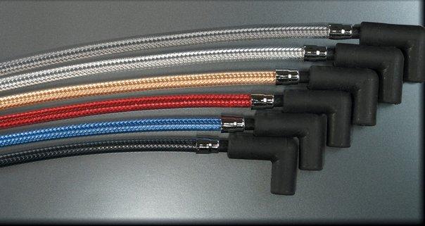 $58.72 Magnum Spark Plug Wires Red For Harley Davidson #168863