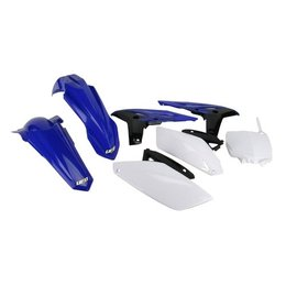UFO Plastics Complete Replacement Plastics Kit Black Blue White For Yam YZ450F