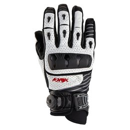 White Knox Mens Hand Armour Orsa Boa Leather Gloves 2014