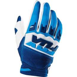 Fox Racing Mens Dirtpaw Mako Textile Gloves White